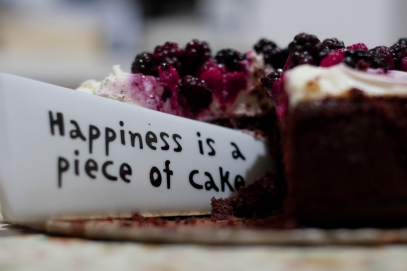 Canva - Happiness Is a Piece of Cake Close Up Photography